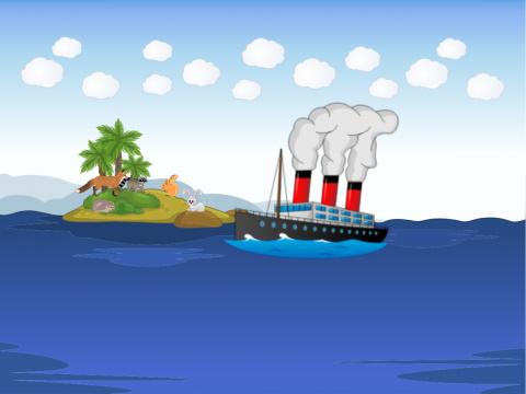 «Спаси зверей с необитаемого острова», бесплатное пособие для автоматизации звуков