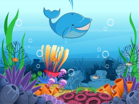 «В море, за китом.», бесплатное пособие для лексических тем