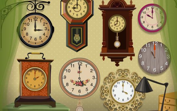 Гномик и часы